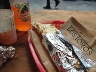 Mexican quesadilla @ Dos Toros