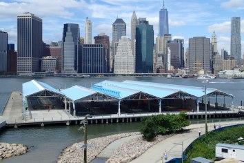 Brooklyn Bridge Park basketball courts