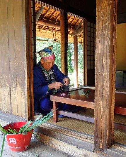 Farmhouse of the Tsunashima Family, built 1700s
