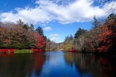 "Lake Kumoba, the ""Swan Lake"""