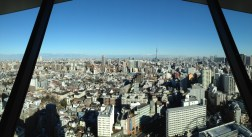 Tokyo Skytree in the distance