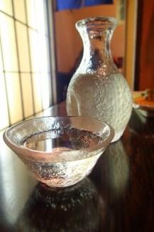Yuri (local sake)