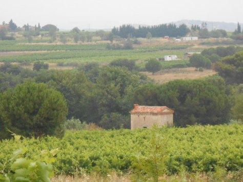 Languedoc grey skies