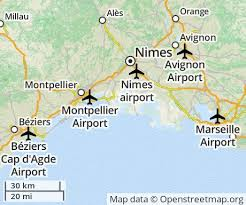 Languedoc airports