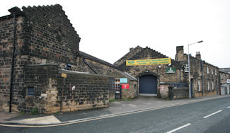 Drill Hall - old Keighley