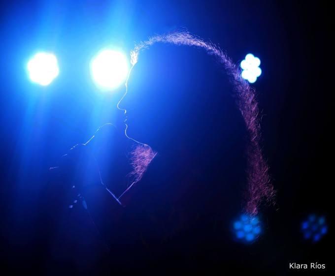 Foto de Klara Ríos de Blau Records