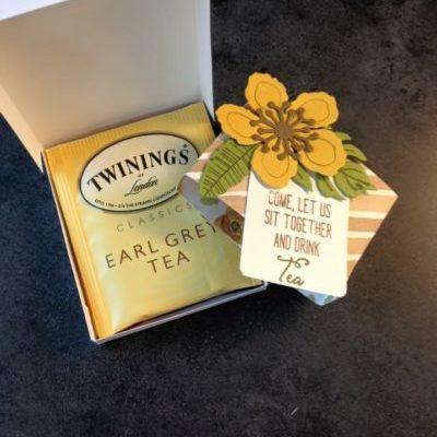 Rectangular Pizza Box for Tea Bags