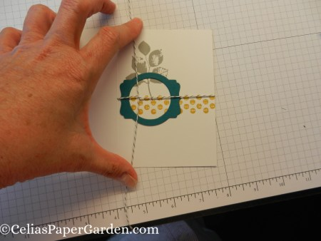 note card, card corsage, step by step, how to, layers, card idea, celiaspapergarden 3
