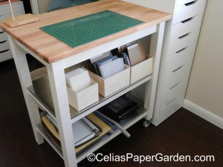 organize, stamps, craft, celiaspapergarden, stamp n storage, stuio 10