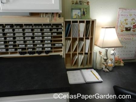 organize, stamps, craft, celiaspapergarden, stamp n storage, stuio 5