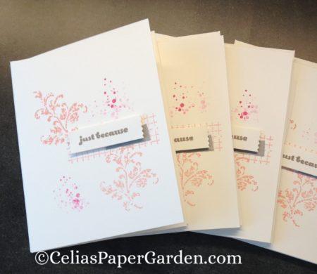 timeless textures, card idea, celia's paper garden, card corsage, corsage, corsages, card