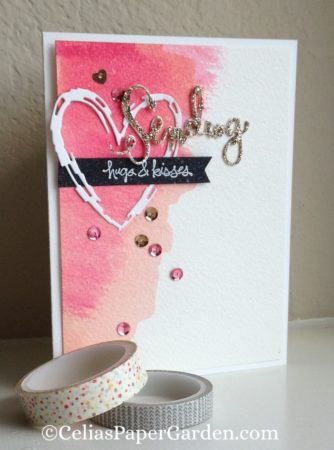water color, glimmer, case, card idea, celiaspapergarden 1