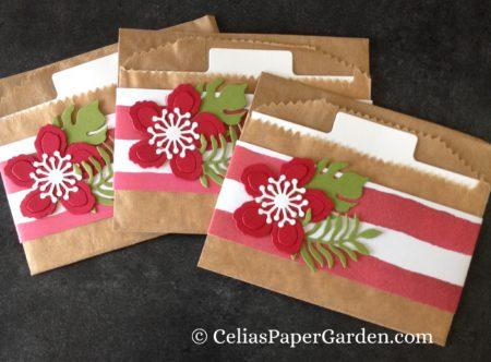 gift card enclosure treat bag celiaspapergarden.com 1