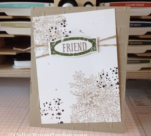 Friendship Cards with Awesomely Artistic