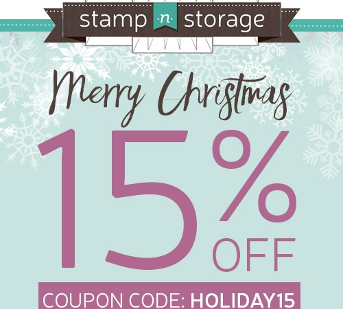 EXCLUSIVE SALE of Stamp-n-Storage Products!