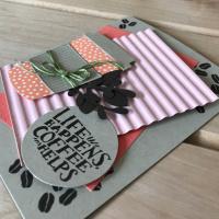Handmade Coffee Card Idea