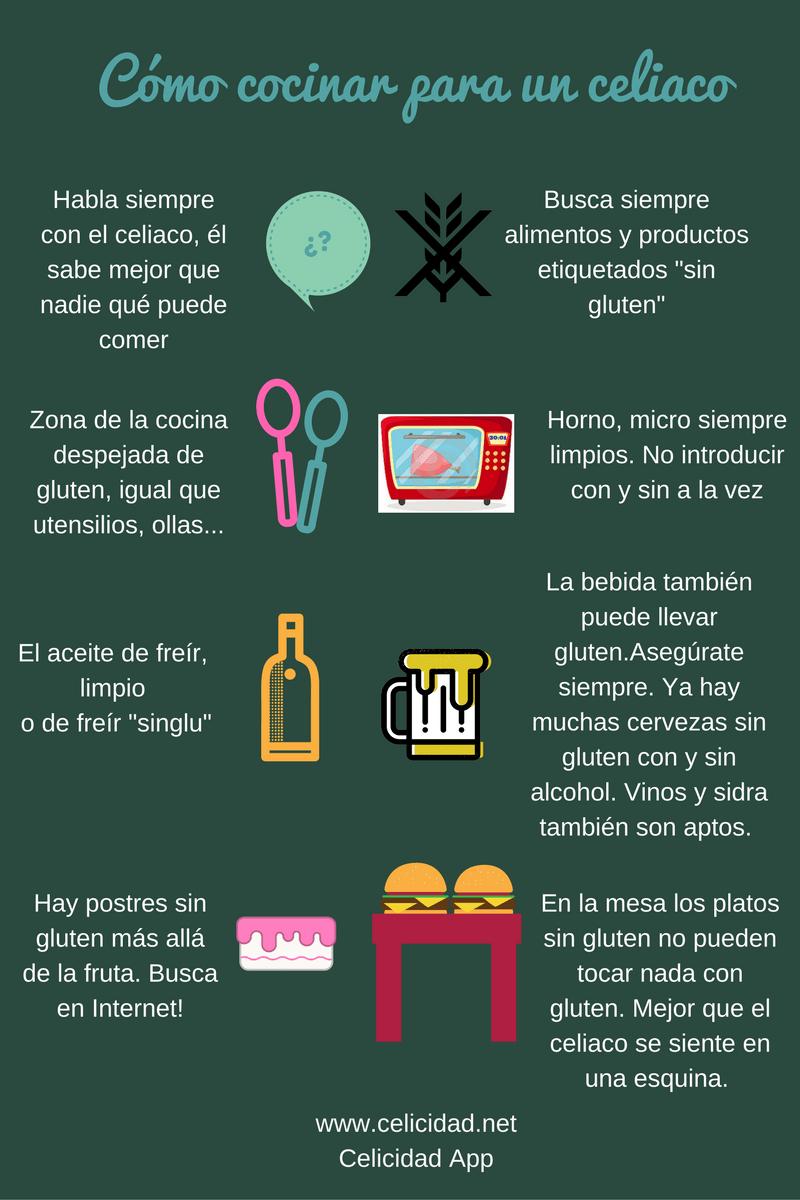 Consejos para cocinar sin gluten  Celicidad