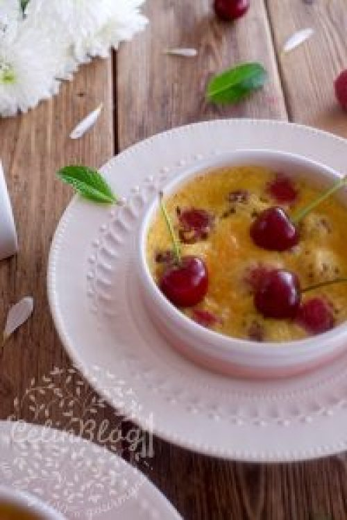 Gratin aux fruits rouges