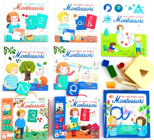 La collection Alice et Adam - Montessori à la maison