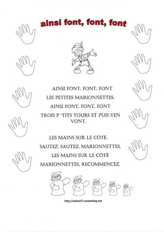 Ainsi Font Font Font Les Petites : ainsi, petites, Coloriage, Comptine, Ainsi