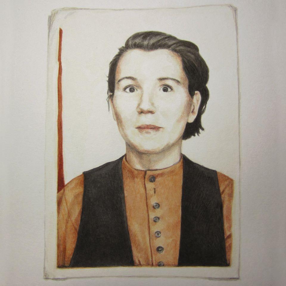 Autoportrait '90
