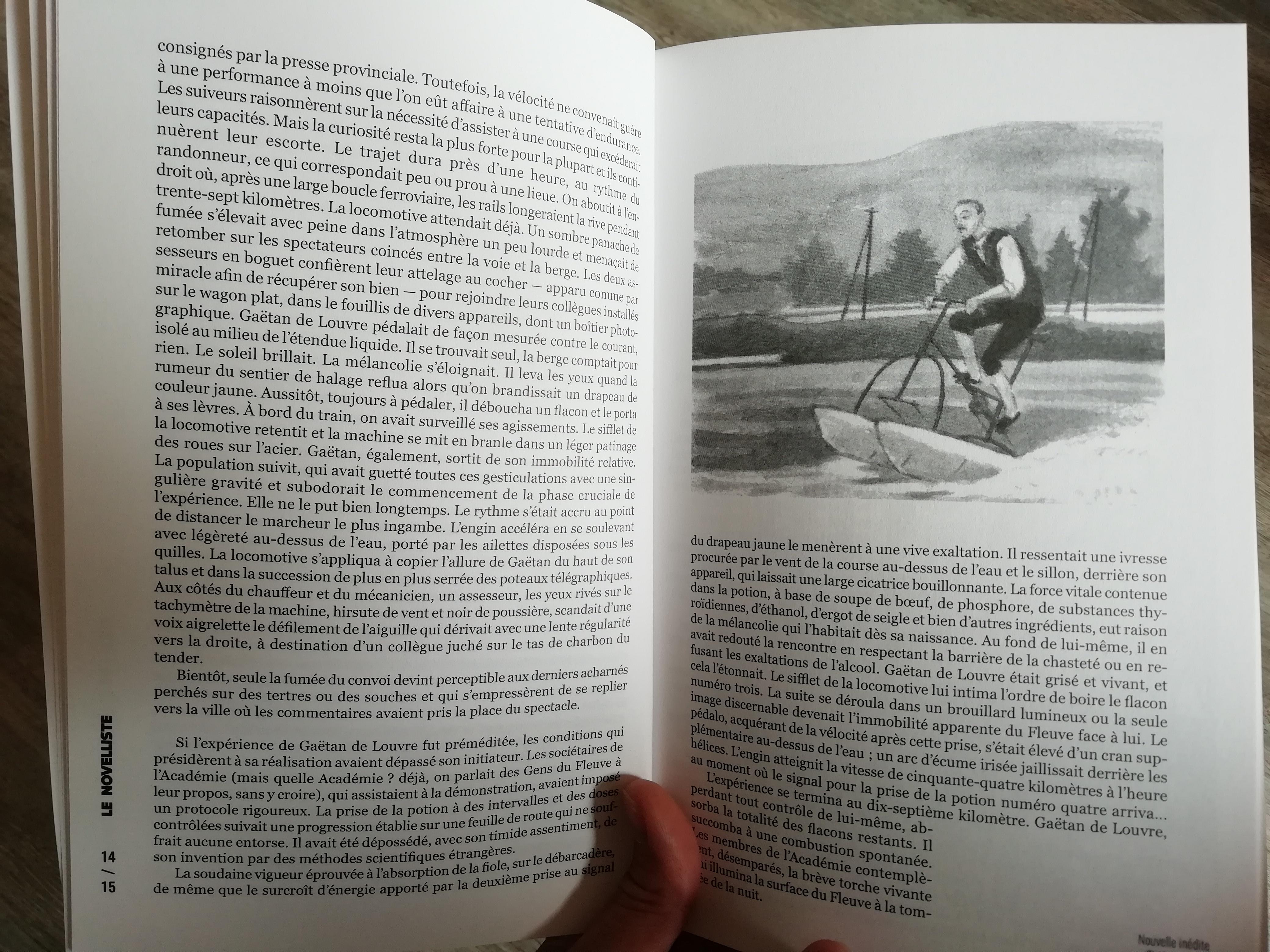 Illustration pour « La Remontée du fleuve » (Le Novelliste n°3)