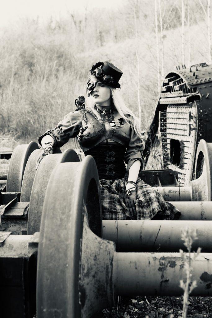Ma Ba steampunk urbex train