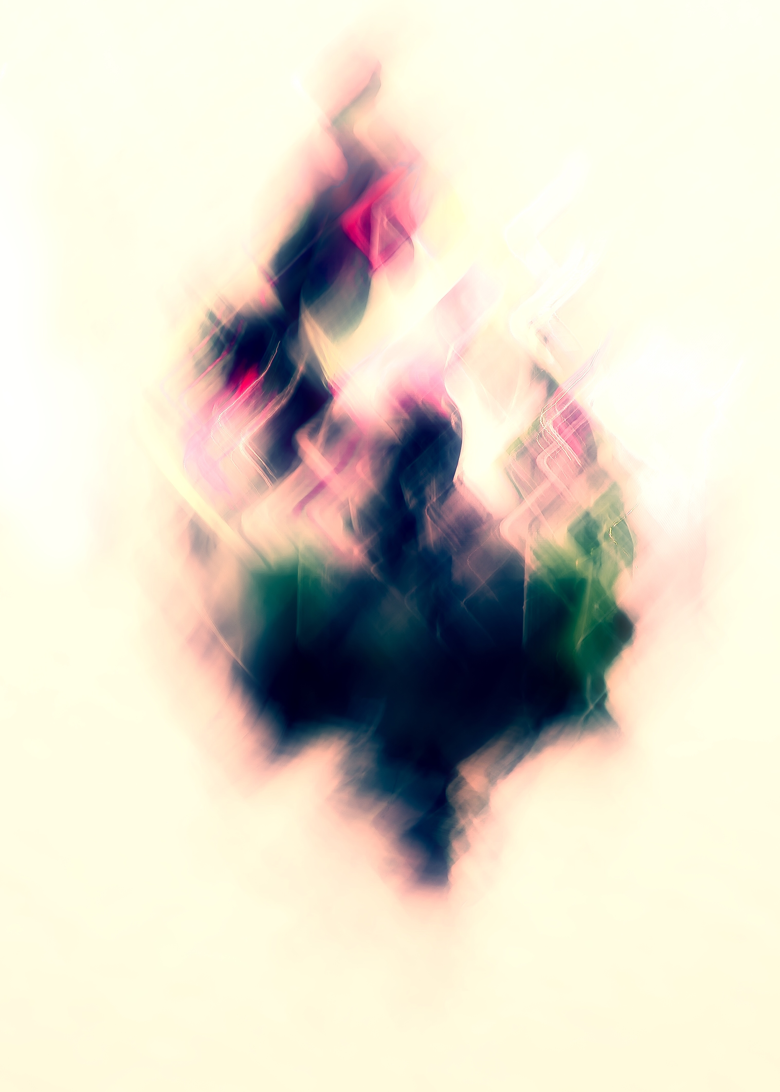 Photo abstraite en ICM Intentional Camera Movement abstract photography