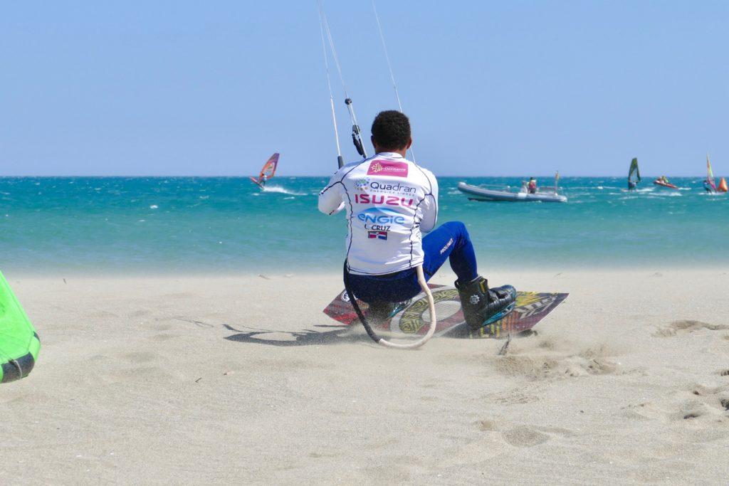 Big Air Champion Kitesurfing Leucate Peter Lynn Kites Luiz Alberto Cruz