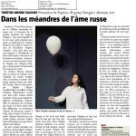 Article paru dans le journal du Jura