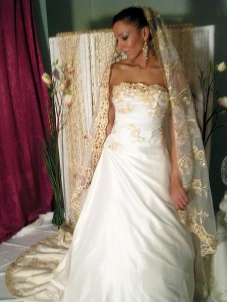 Robe pour mariage oriental
