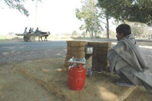 hot tea vendor in new delhi