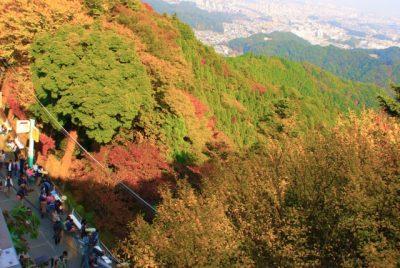 高尾山にハイキング