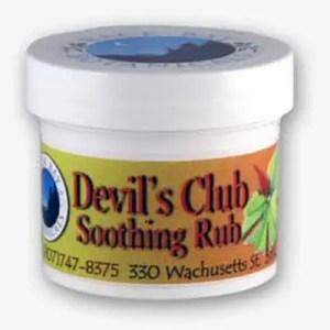 Devil's Club Soothing Rub Sitka Alaska