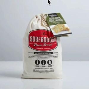 Hatch Green Chile Cheddar Soberdough Brew Bread