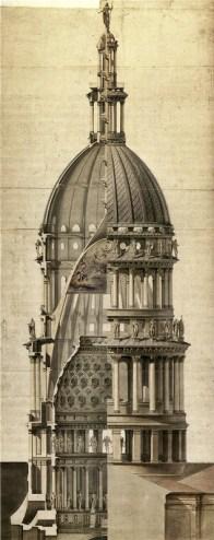 Cupola S. Gaudenzio sezione