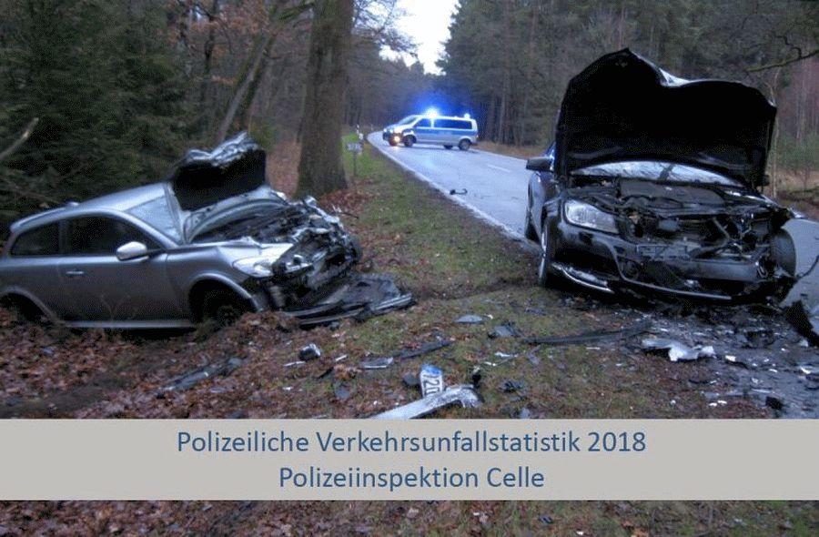 Präsentation der Verkehrsunfallstatistik für das Jahr 2018 in Stadt und Landkreis Celle – Zahl der Verkehrsunfälle leicht angestiegen