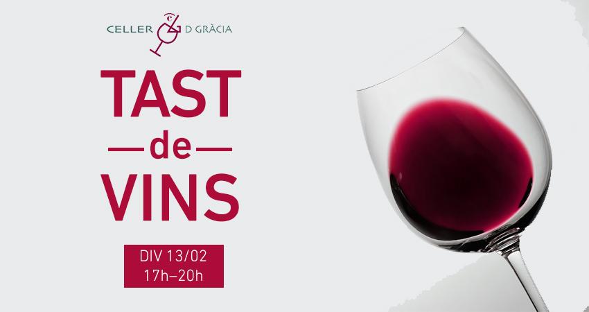 Tast de vins Col·lecció aquest divendres 13 de febrer