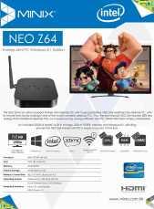 NEO Z64 Windows 8.1 Edition - Leaflet