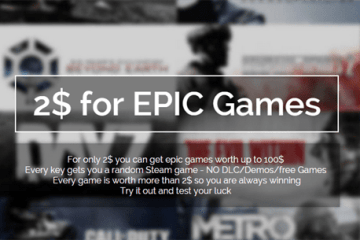 Steamdealz.com - 2$ for EPIC Games