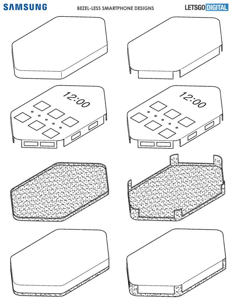 Samsung: brevettato un prototipo di smartphone senza bordi