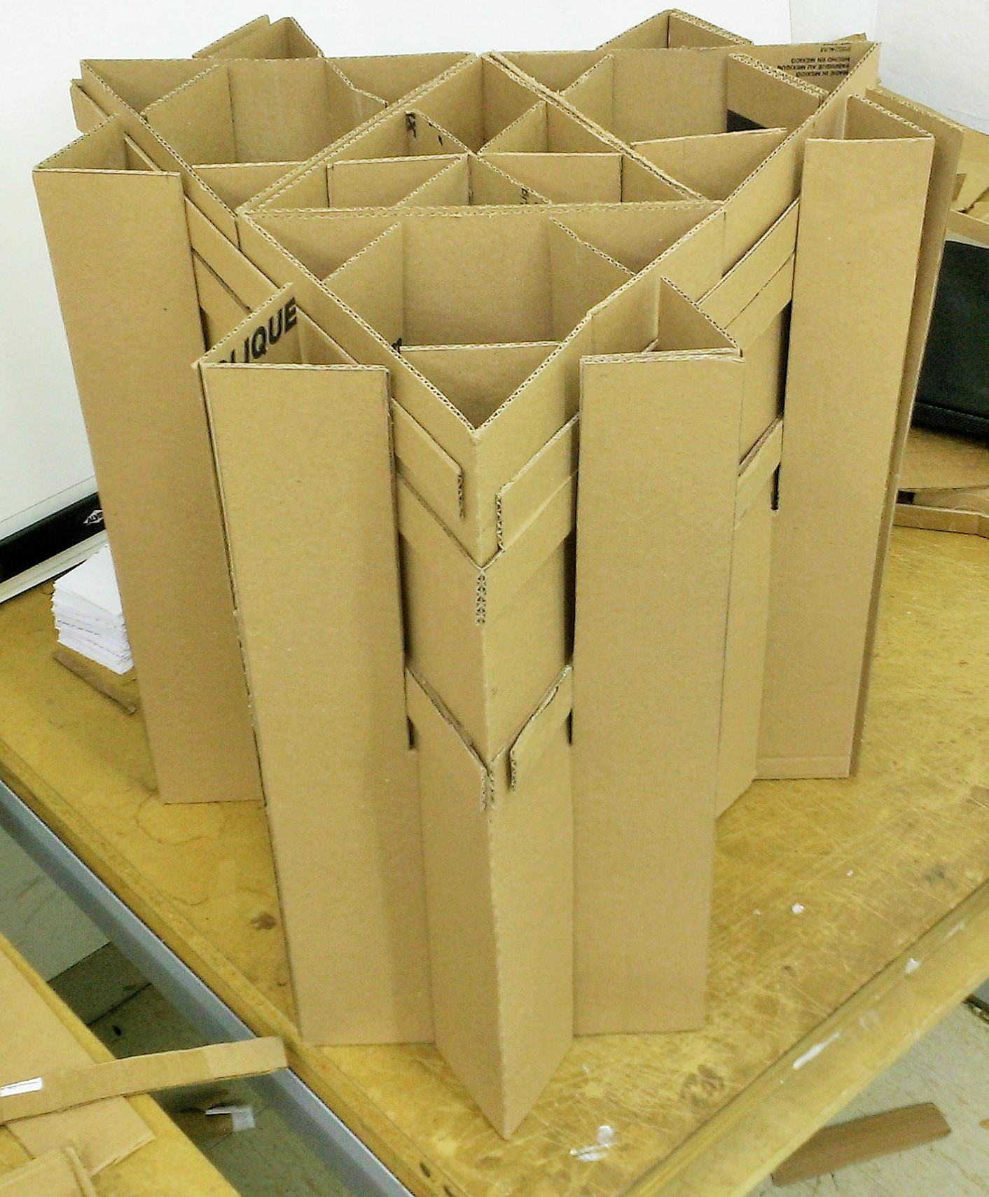 Cardboard Chair Main Structural Section  Cello Expressions