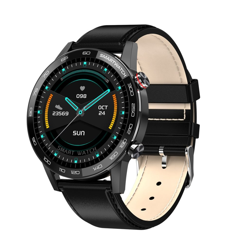 PL16 Smart Watch Men ECG PPG IP68 Waterproof Smartwatch 1.3inch 360*360 HD Full touch screen Fitness Sports watchs