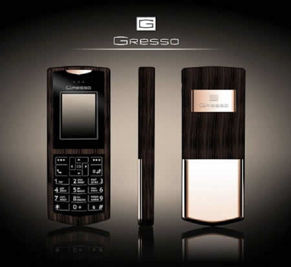 gresso luxury phone