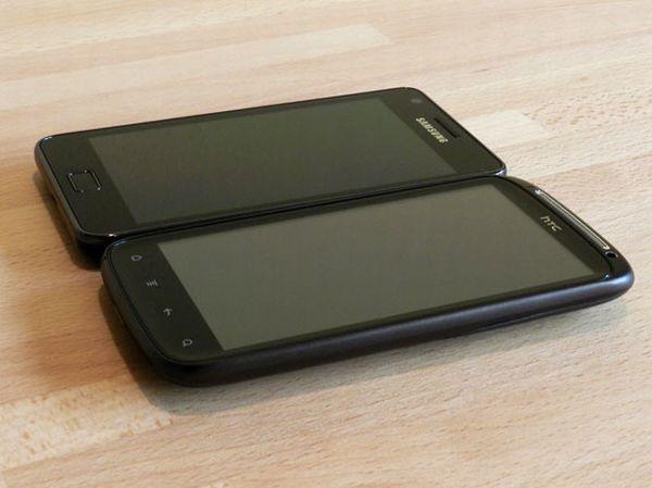 HTC Sensation vs. Samsung Galaxy S II