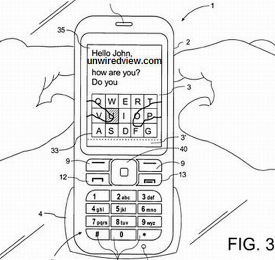 Nokia readying mobiles with virtual QWERTY keyboard