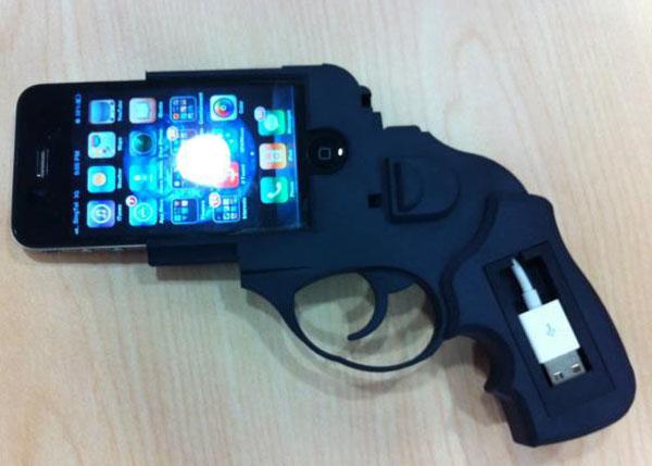 Ruger Revolver iPhone 4 Dock