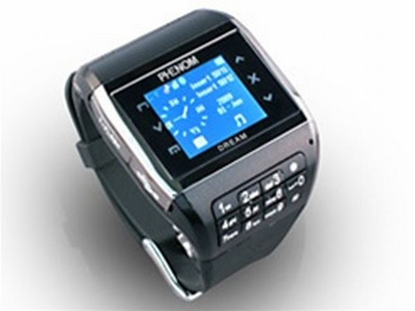 Stylish Wrist mobile phone Phenom Watch