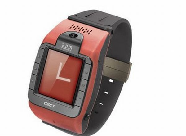 W100 wrist-watch mobile phone