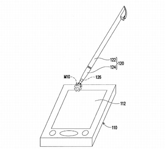 HTC Files Patent for a Stylus on a Capacitive Touch Screen